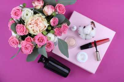 bloom blossom bouquet cosmetics